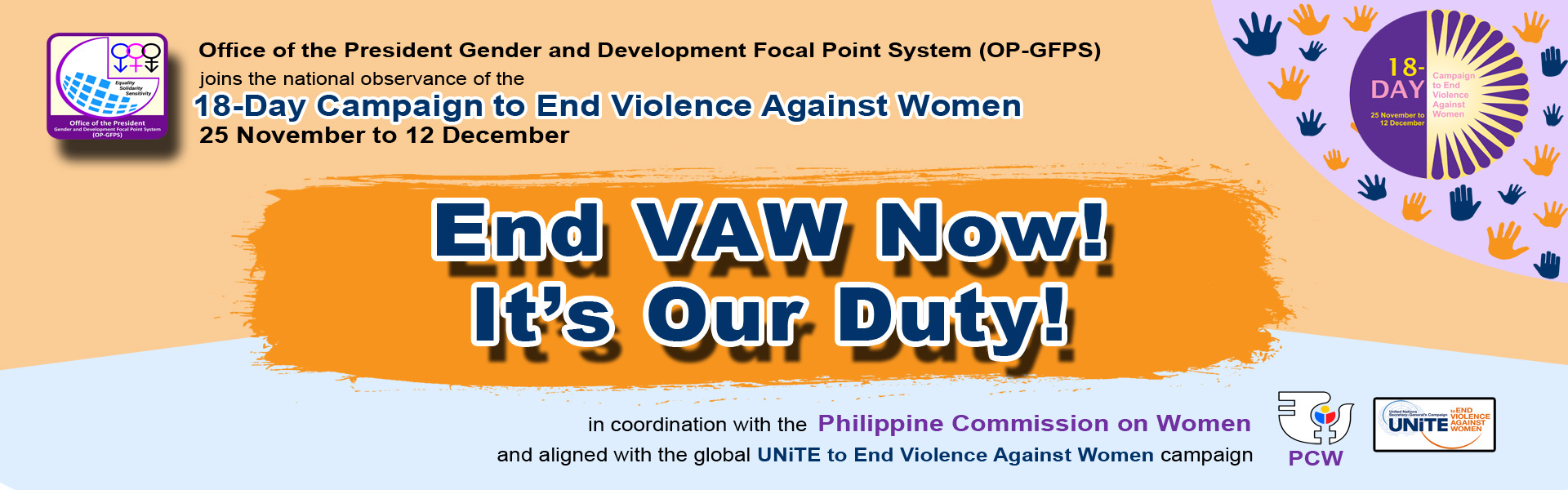 Intranet Banner VAW