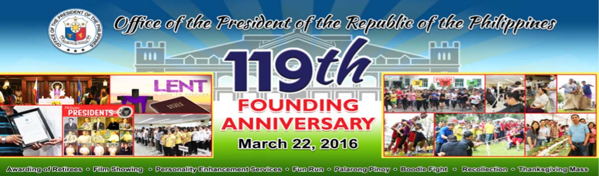 OP 119th Founding Anniversary